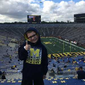 Edmund attended University of Michigan vs. Army - NCAA Football **military Appreciation Game** on Sep 7th 2019 via VetTix