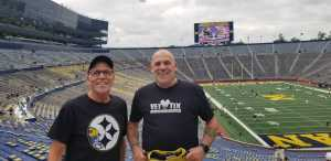Brian attended University of Michigan vs. Army - NCAA Football **military Appreciation Game** on Sep 7th 2019 via VetTix
