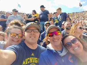 Jarrod attended University of Michigan vs. Army - NCAA Football **military Appreciation Game** on Sep 7th 2019 via VetTix