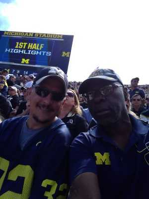 Bryan attended University of Michigan vs. Army - NCAA Football **military Appreciation Game** on Sep 7th 2019 via VetTix