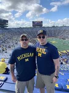 James attended University of Michigan vs. Army - NCAA Football **military Appreciation Game** on Sep 7th 2019 via VetTix