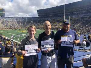 Gary attended University of Michigan vs. Army - NCAA Football **military Appreciation Game** on Sep 7th 2019 via VetTix