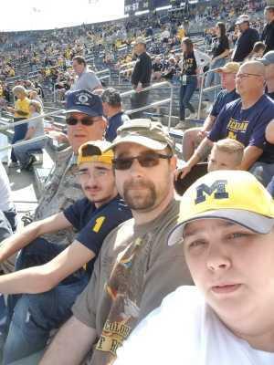 Joseph attended University of Michigan vs. Army - NCAA Football **military Appreciation Game** on Sep 7th 2019 via VetTix