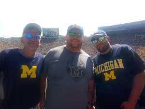 jeffrey attended University of Michigan vs. Army - NCAA Football **military Appreciation Game** on Sep 7th 2019 via VetTix