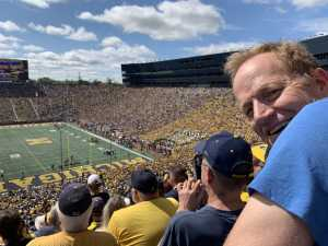 Heidi attended University of Michigan vs. Army - NCAA Football **military Appreciation Game** on Sep 7th 2019 via VetTix