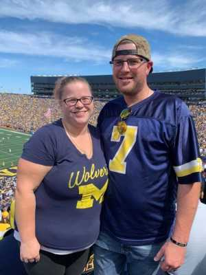 Douglas attended University of Michigan vs. Army - NCAA Football **military Appreciation Game** on Sep 7th 2019 via VetTix