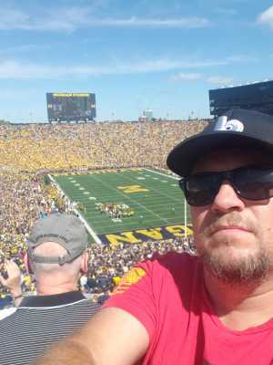 Stephen attended University of Michigan vs. Army - NCAA Football **military Appreciation Game** on Sep 7th 2019 via VetTix