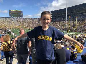 Jason attended University of Michigan vs. Army - NCAA Football **military Appreciation Game** on Sep 7th 2019 via VetTix
