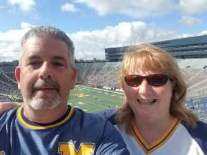 Kevin Ackley attended University of Michigan vs. Army - NCAA Football **military Appreciation Game** on Sep 7th 2019 via VetTix
