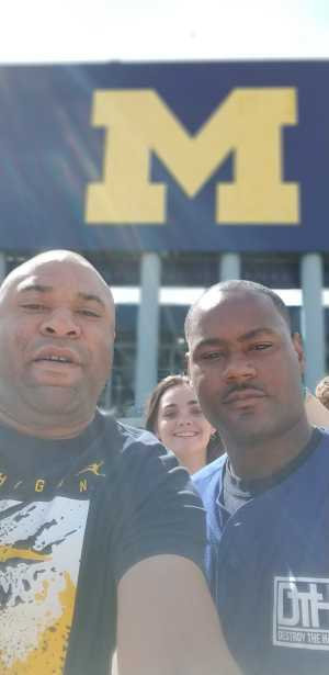 Cleveland attended University of Michigan vs. Army - NCAA Football **military Appreciation Game** on Sep 7th 2019 via VetTix