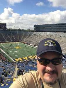 TIMOTHY attended University of Michigan vs. Army - NCAA Football **military Appreciation Game** on Sep 7th 2019 via VetTix