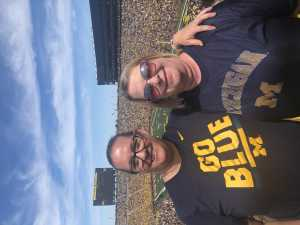 Kimberly attended University of Michigan vs. Army - NCAA Football **military Appreciation Game** on Sep 7th 2019 via VetTix