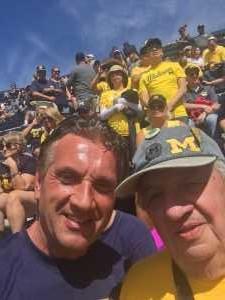 Lynn VK attended University of Michigan vs. Army - NCAA Football **military Appreciation Game** on Sep 7th 2019 via VetTix