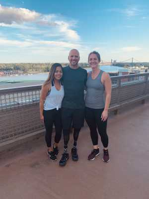 Kristin attended For One Yoga With Dan Nevins on Sep 7th 2019 via VetTix