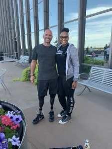 LaTonya attended For One Yoga With Dan Nevins on Sep 7th 2019 via VetTix