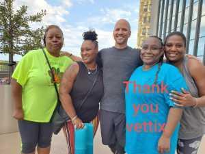 TERESA attended For One Yoga With Dan Nevins on Sep 7th 2019 via VetTix