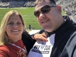 Chuck attended University of Connecticut Huskies vs. USF Bulls - NCAA Football on Oct 5th 2019 via VetTix