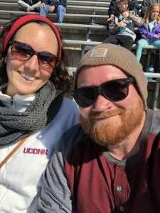 Matt attended University of Connecticut Huskies vs. USF Bulls - NCAA Football on Oct 5th 2019 via VetTix
