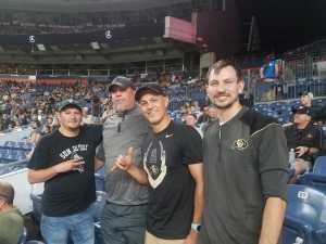Jim attended Colorado Buffaloes vs. Colorado State - NCAA Football on Aug 30th 2019 via VetTix