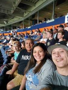 Ismael attended Colorado Buffaloes vs. Colorado State - NCAA Football on Aug 30th 2019 via VetTix