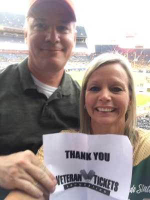 Patrick attended Colorado Buffaloes vs. Colorado State - NCAA Football on Aug 30th 2019 via VetTix