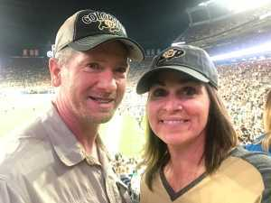 Charles attended Colorado Buffaloes vs. Colorado State - NCAA Football on Aug 30th 2019 via VetTix