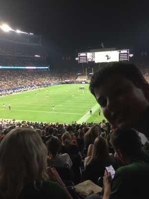 Ryan attended Colorado Buffaloes vs. Colorado State - NCAA Football on Aug 30th 2019 via VetTix