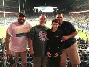 Luis attended Colorado Buffaloes vs. Colorado State - NCAA Football on Aug 30th 2019 via VetTix