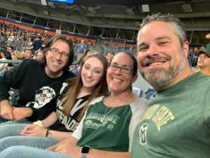 Robert attended Colorado Buffaloes vs. Colorado State - NCAA Football on Aug 30th 2019 via VetTix