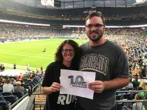 Karen attended Colorado Buffaloes vs. Colorado State - NCAA Football on Aug 30th 2019 via VetTix