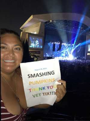 David attended The Smashing Pumpkins & Noel Gallagher's High Flying Birds - Alternative Rock on Aug 28th 2019 via VetTix
