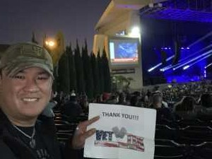 Jonathan attended The Smashing Pumpkins & Noel Gallagher's High Flying Birds - Alternative Rock on Aug 28th 2019 via VetTix