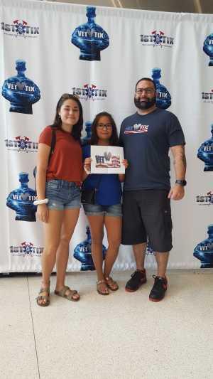 David attended Harlem Globetrotters on Aug 24th 2019 via VetTix