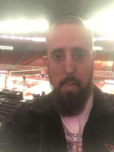 David attended University of Houston Cougars vs. Tulsa - NCAA Women's Volleyball on Nov 1st 2019 via VetTix