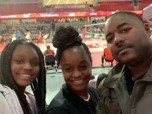 Katrenna attended University of Houston Cougars vs. Tulsa - NCAA Women's Volleyball on Nov 1st 2019 via VetTix