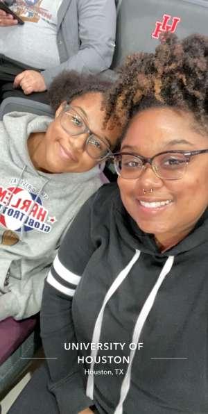 Ariel attended University of Houston Cougars vs. Tulsa - NCAA Women's Volleyball on Nov 1st 2019 via VetTix