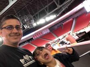 Luis attended University of Houston Cougars vs. Tulsa - NCAA Women's Volleyball on Nov 1st 2019 via VetTix