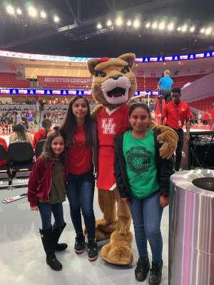 Marcus attended University of Houston Cougars vs. Tulsa - NCAA Women's Volleyball on Nov 1st 2019 via VetTix