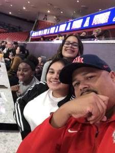 Michael attended University of Houston Cougars vs. Tulsa - NCAA Women's Volleyball on Nov 1st 2019 via VetTix