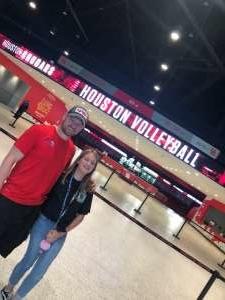 Clint attended University of Houston Cougars vs. Wichita State - NCAA Women's Volleyball on Nov 3rd 2019 via VetTix