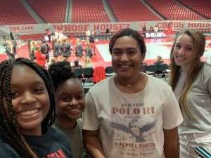 Katrenna attended University of Houston Cougars vs. Wichita State - NCAA Women's Volleyball on Nov 3rd 2019 via VetTix