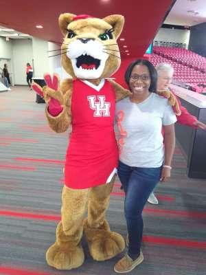 Anthony attended University of Houston Cougars vs. Wichita State - NCAA Women's Volleyball on Nov 3rd 2019 via VetTix