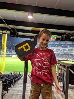 anne attended Pittsburgh Pirates vs. Seattle Mariners - MLB on Sep 17th 2019 via VetTix