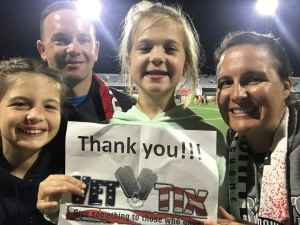 Thomas attended Loudoun United FC vs. Nashville SC - USL on Sep 28th 2019 via VetTix