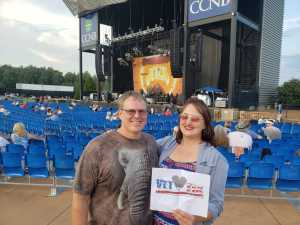 Charles attended Peter Frampton Finale - the Farewell Tour - Pop on Sep 10th 2019 via VetTix