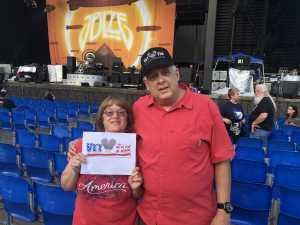 Marion attended Peter Frampton Finale - the Farewell Tour - Pop on Sep 10th 2019 via VetTix