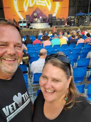 JEFF attended Peter Frampton Finale - the Farewell Tour - Pop on Sep 10th 2019 via VetTix