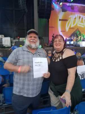 larry attended Peter Frampton Finale - the Farewell Tour - Pop on Sep 10th 2019 via VetTix