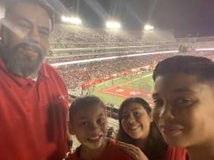 Heaven attended University of Houston Cougars vs. Navy - NCAA Football on Nov 30th 2019 via VetTix