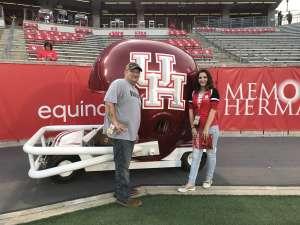 Douglas attended University of Houston Cougars vs. Navy - NCAA Football on Nov 30th 2019 via VetTix